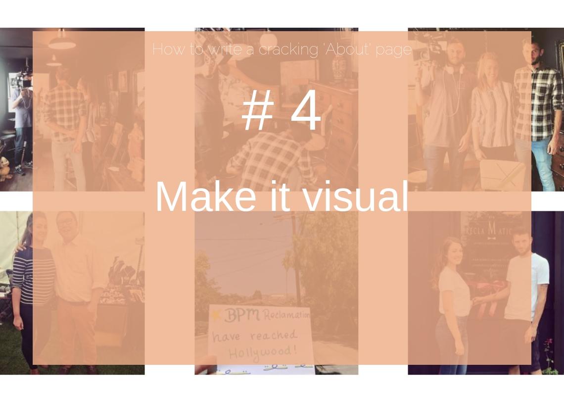 Make it visual