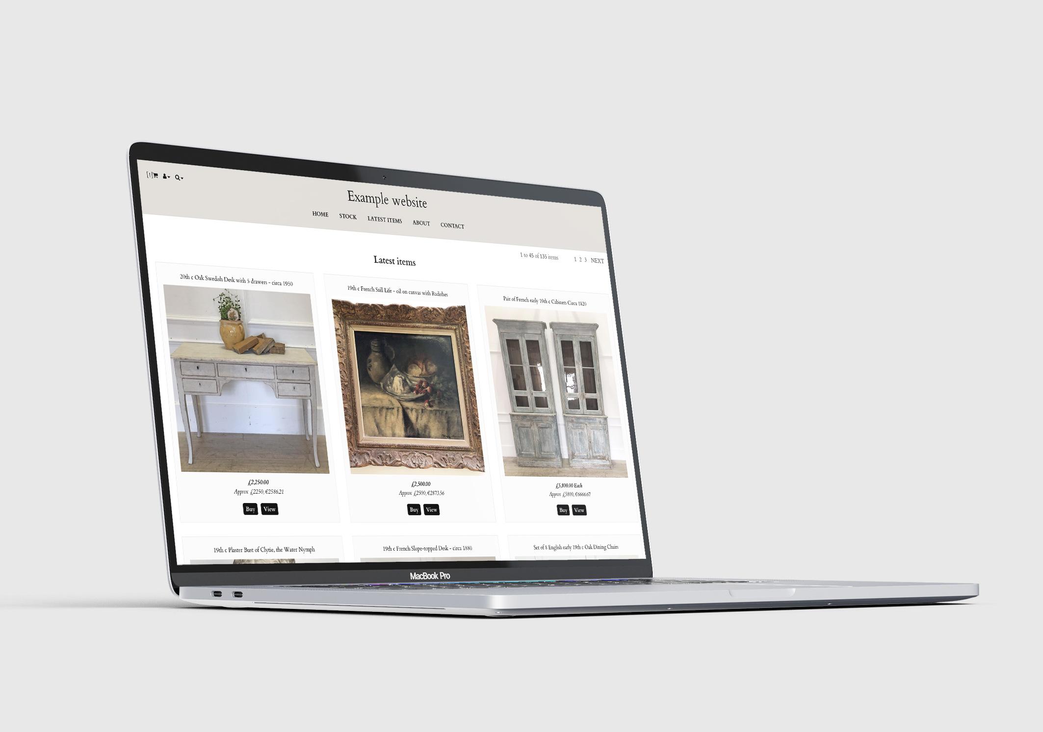 Cromford on a Macbook