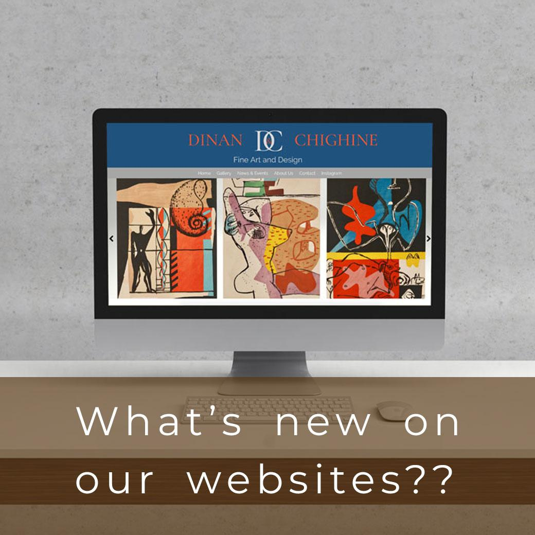 What's new on our websites?