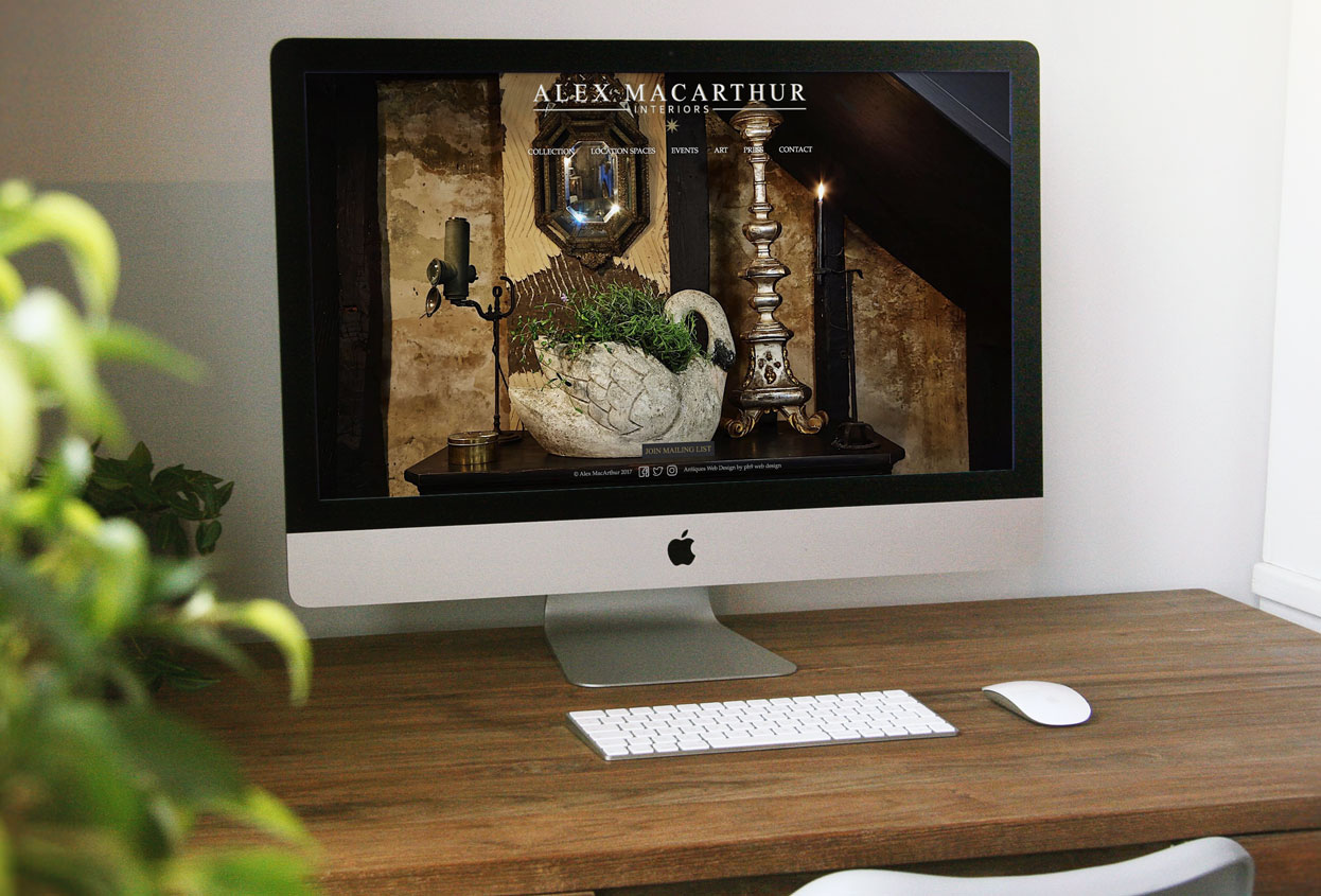 alex macarthur website preview