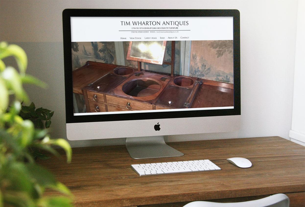 Tim wharton antiques Antiques Web Design