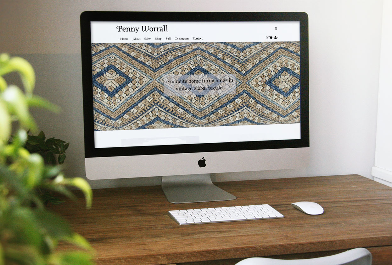 Penny Worrall Antiques Web Design