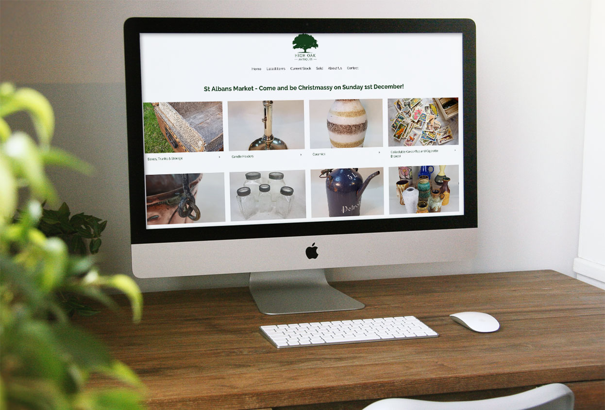 High Oak Antiques Website