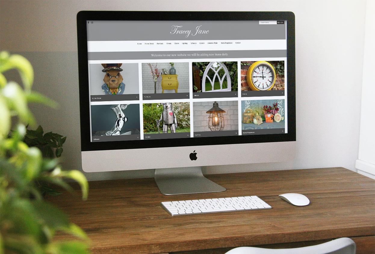 Tracey Jane Website