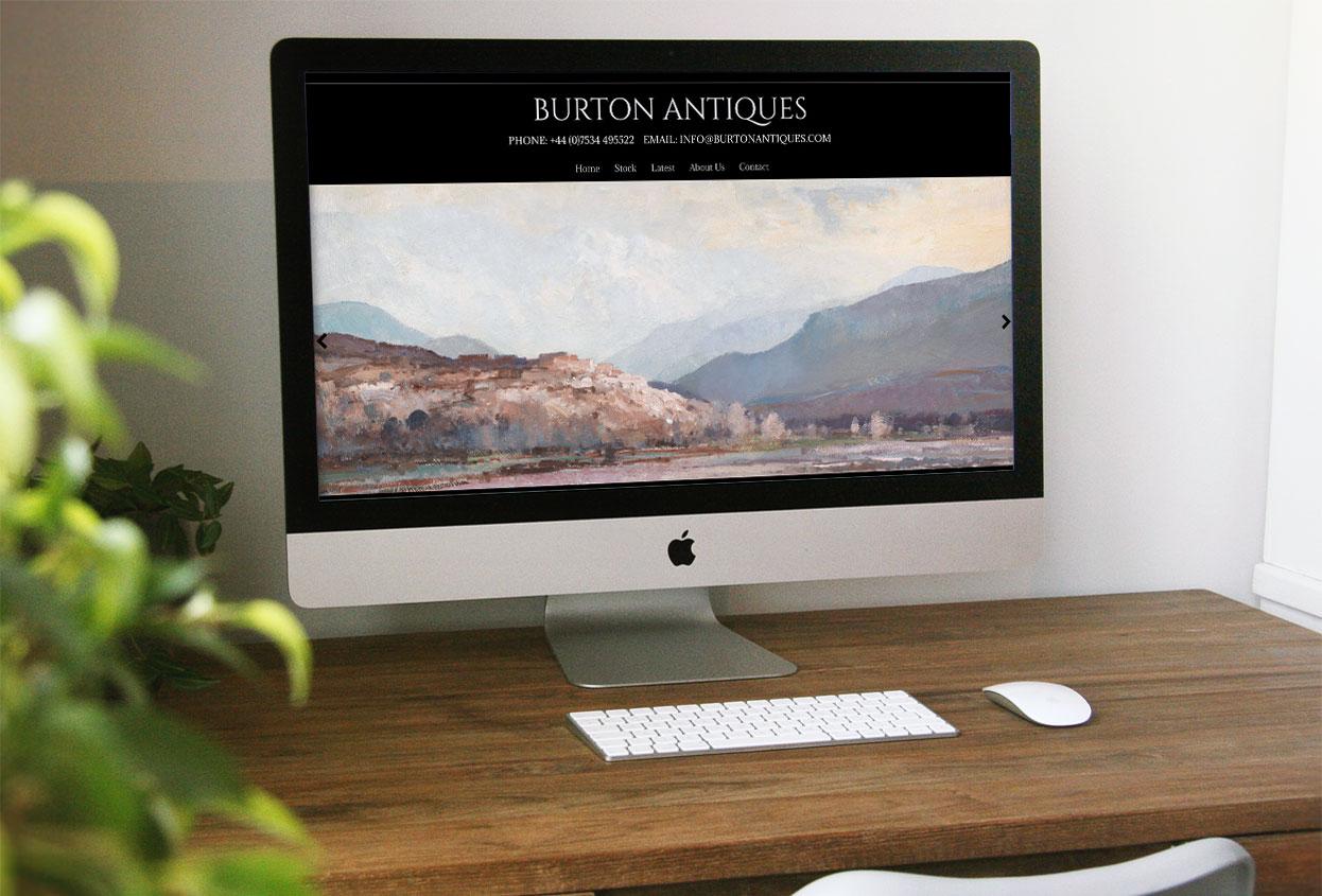 burton antiques