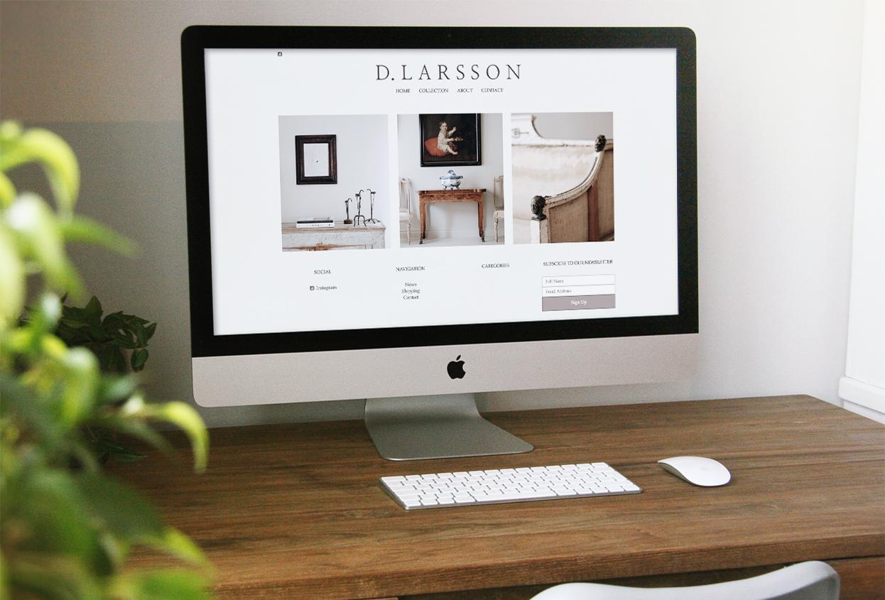 dlarsson website preview