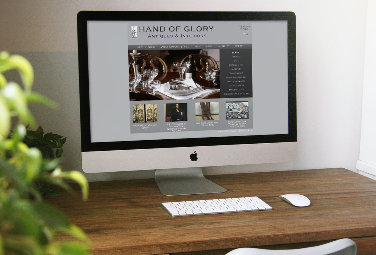 Hand of Glory Antiques