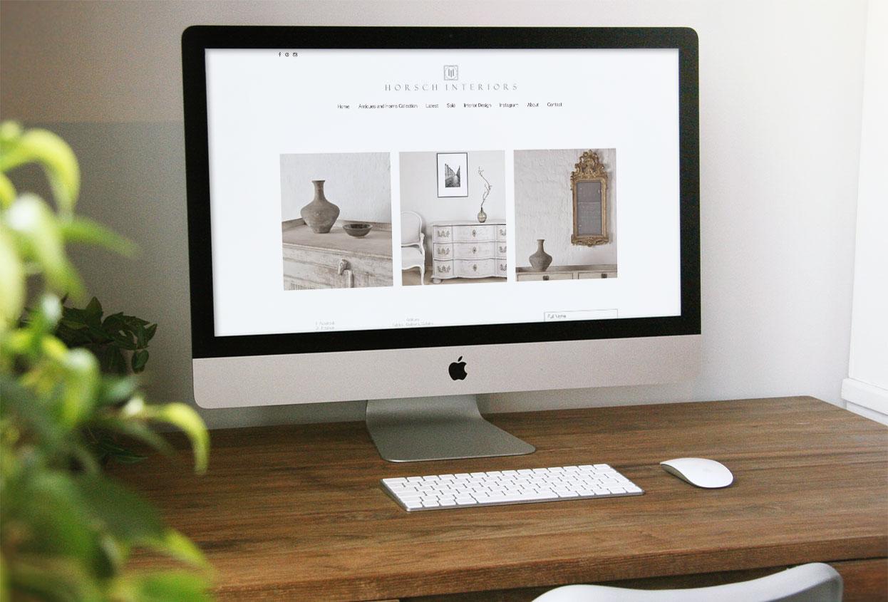 horsch interiors website preview