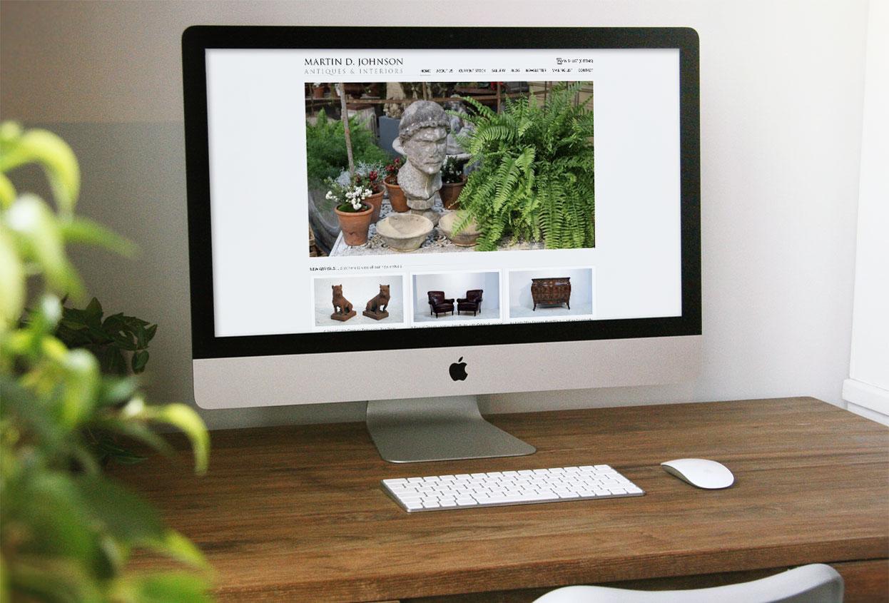 martin d johnson website preview